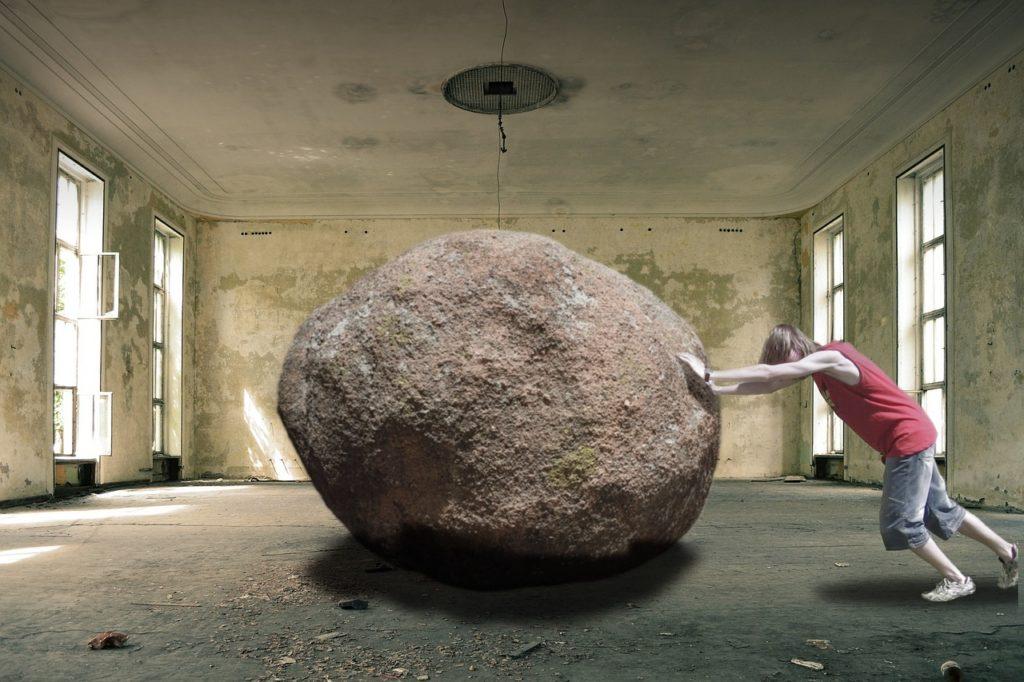 stress en oververmoeid