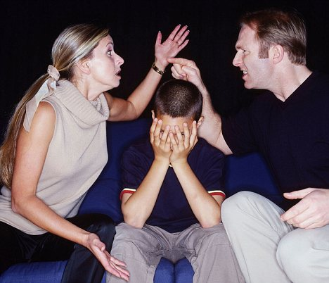 stress gezin samengesteld