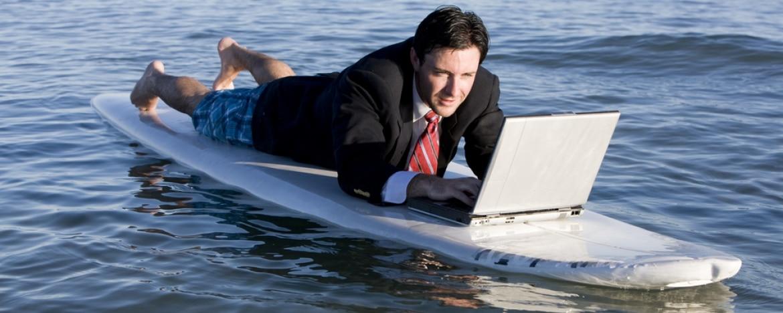 Werken op vakantie? Dacht het niet!