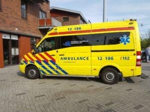 Stress ambulancepersoneel