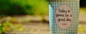 positiever in het leven staan