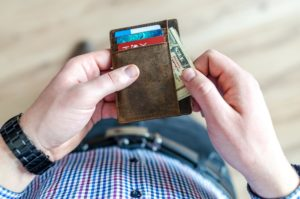 niet van schulden afkomen