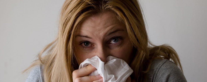 Allergiën door stress - Verkoudheid, hooikoorts, hoesten en proesten.