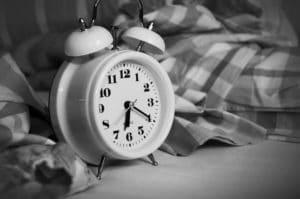 Wanneer een slaaptekort?