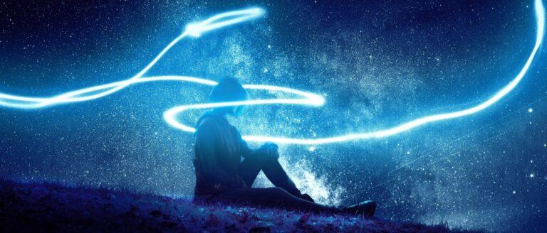 Lichtflitsen zien door stress, oververmoeidheid of een burnout