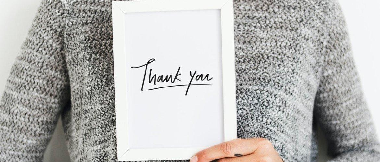 Zo kun je dankbaar zijn voor alles wat je hebt: 4 super praktische tips