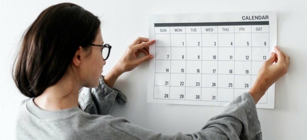 Dagindeling stress en burnout