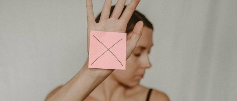 Zelfafwijzing: stop met jezelf omlaag halen!
